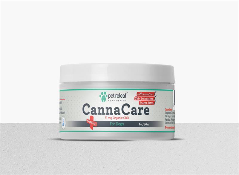 Canna Care Pet Releaf Cbd Topical Cream 4oz