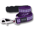 Red Dingo Reflective Adjustable Leash